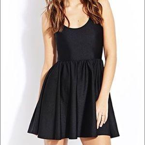 American Apparel Skater Dress in Black